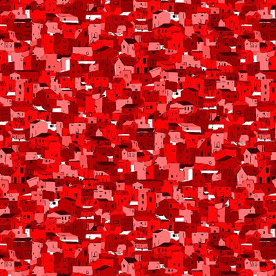 Quilter's Coordinates Red by Stof - 1/2 meter