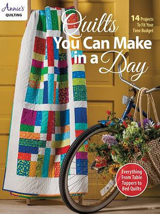Quilts You Can Make In A Day