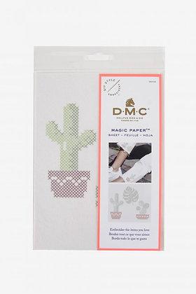 Cactus Cross Stitch Magic Paper