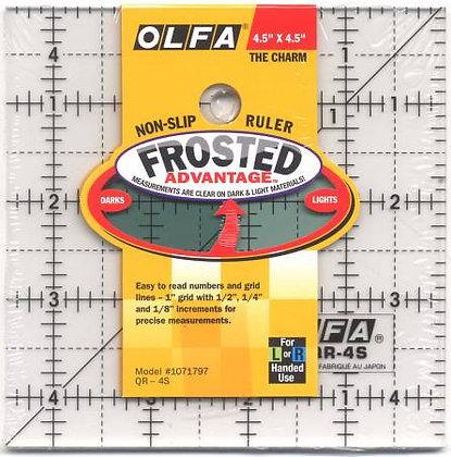 "Olfa Ruler - 4.5"" x 4.5"""