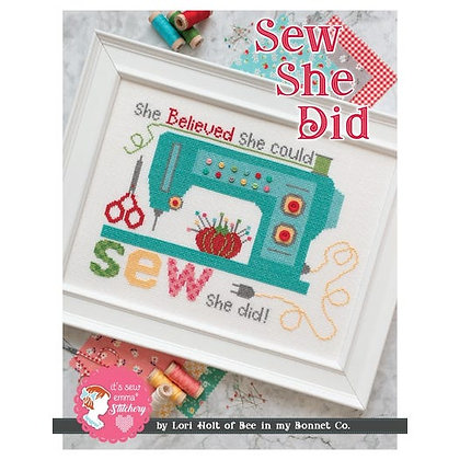 Sew She Did Cross Stitch Kit