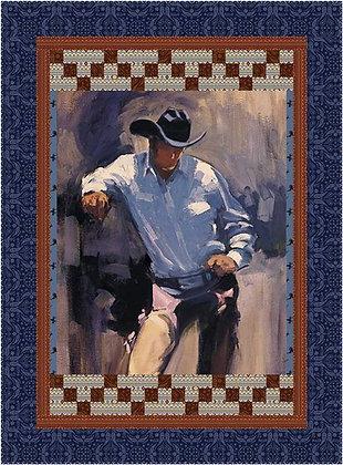Back of the Chutes - Cowboy Pattern