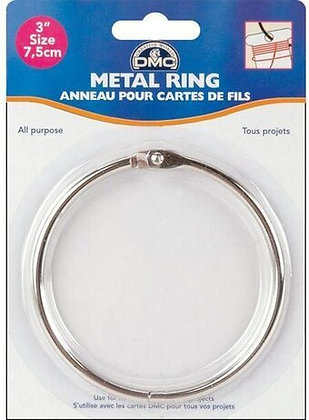 DMC Metal Ring - 3""