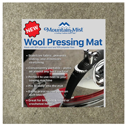 "Wool Pressing Mat - 13-1/2"" x 13-1/2"""