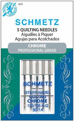 Schmetz Quilting Chrome Needles #90/14