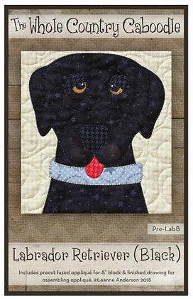 Labrador Retriever (Black) - Precut Fused Applique Pack