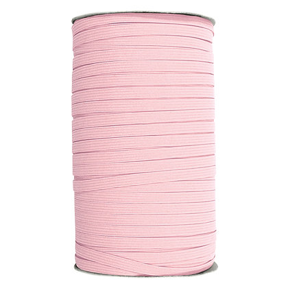 """Elastic - 1/4"""" - Light Pink (by the meter)"""