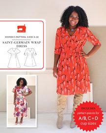 Saint-Germain Wrap Dress Pattern