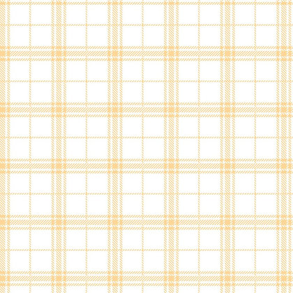 Mixology Plaid - Chamomille - 1/2 meter