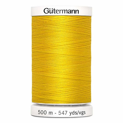 Gutermann 100% Polyester Thread - 500m - Goldenrod