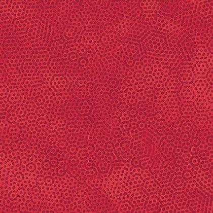Dimples Red - Wideback - 1/2 meter