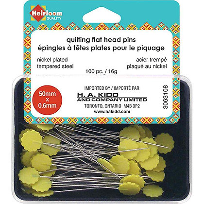 Quilting Flat Head Pins