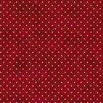 Beautiful Basics Dots - Dark Red - 1/2 meter
