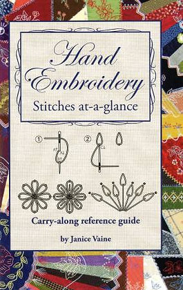 Hand Embroidery Stitches-At-A-Glance