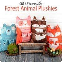 Forest Animal Plushies