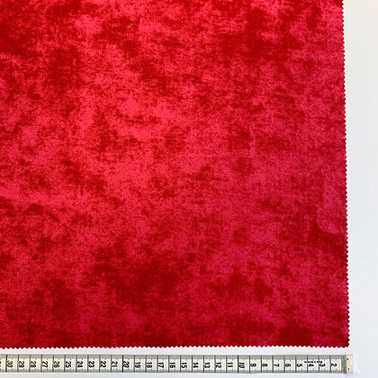 Suede - Wideback - Red - 1/2 meter