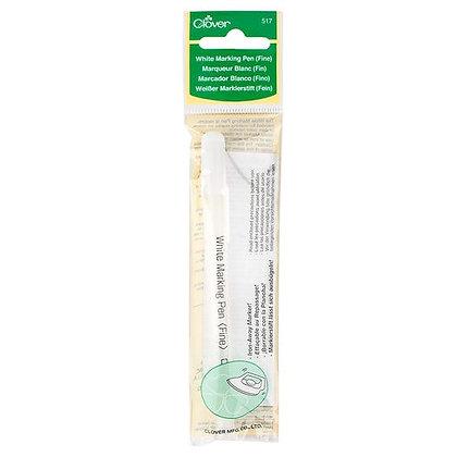 Clover White Marking Pen - Fine