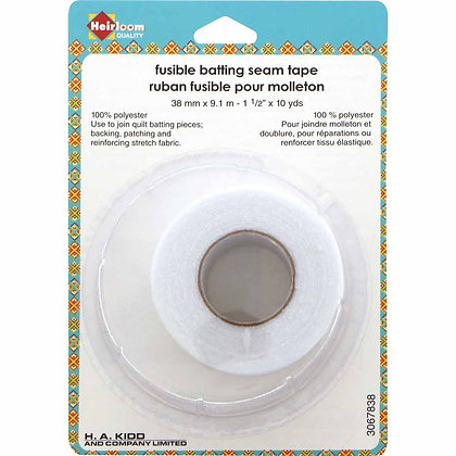 Fusible Batting Seam Tape