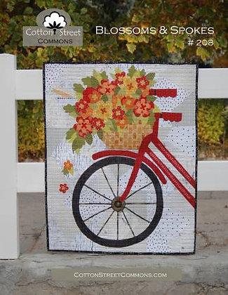 Blossoms & Spokes Pattern