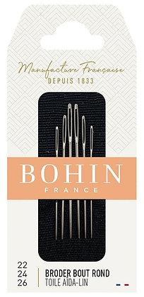 Bohin Tapestry Needles 22/24/26