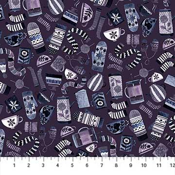 Cozy Up - Cozy Purple Multi - 1/2 meter