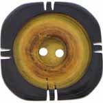2 Hole Button - 32mm (1-1/4″) - Horn