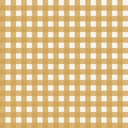 Homestead Life - Gingham Gold - 1/2 meter