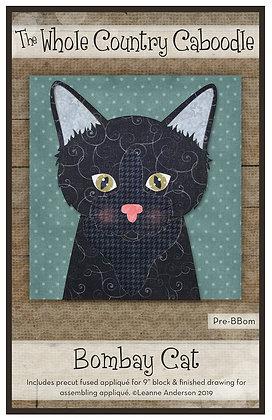 Bombay Cat - Precut Fused Applique Pack