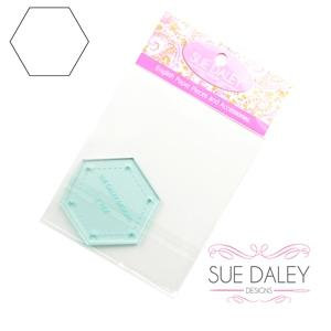 "Sue Daley 1"" Hex Template"