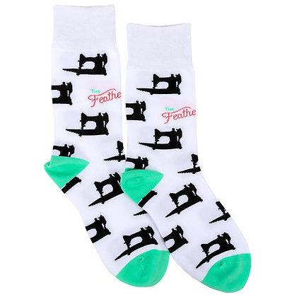 Featherweight Socks - White