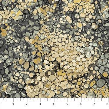 Journey - Bubble Texture Gray Multi - 1/2 meter