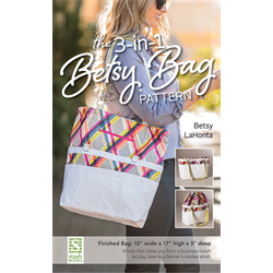 3-in-1 Betsy Bag Pattern