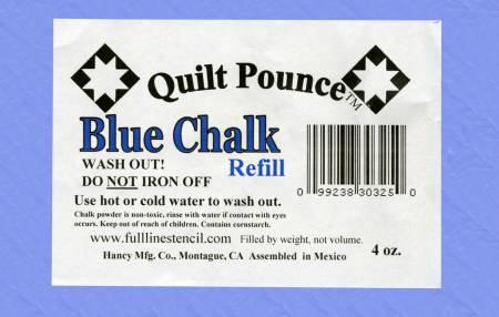 Quilt Pounce - Blue Chalk Refill