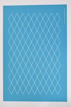 Stencil - Diamond Grid