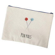 Pin Pals Canvas Zipper Bag