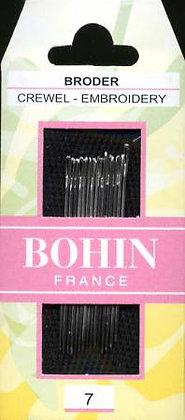 Bohin Embroidery/Crewel Needles - Size 7