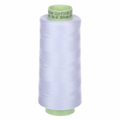 Cotton Thread Silk Finish - 60 wt Cone - Assorted Colours - Mettler
