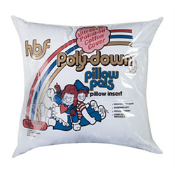 Poly-down Pillow Inserts (12'x12')