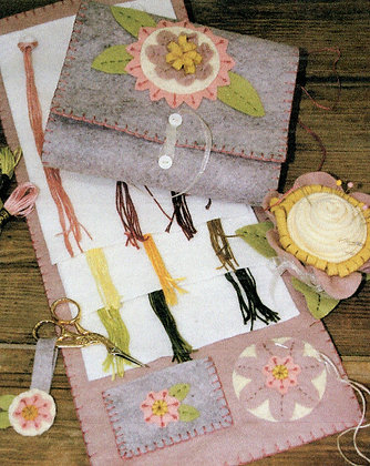 Bareroots #202 Stitchery Set