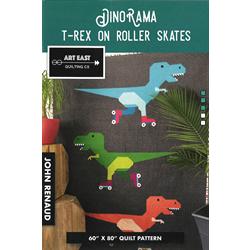 DinoRama T-Rex on Roller Skates