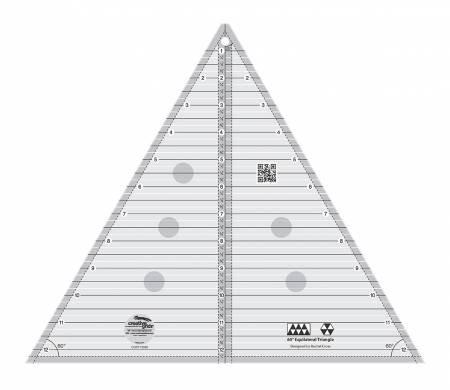 "60 Degree Triangle Ruler - 12"""