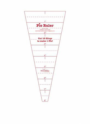 Sew Simple Shapes - Pie Ruler