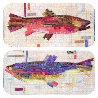 Making Fish! Collage Pattern