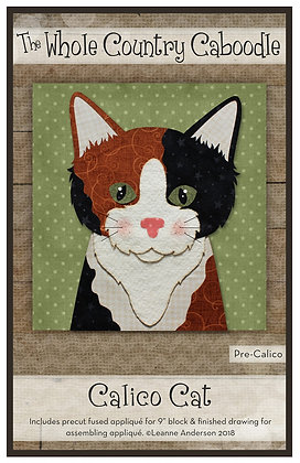 Calico Cat - Precut Fused Applique Pack