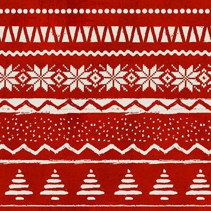 Jingle All The Way - Sweater Print - 1/2 meter