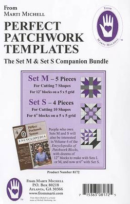 Sets M & S - Perfect Patchwork Templates - Marti Michell