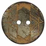 2 Hole Button - 40mm (1-9/16″) - Akoya Shell