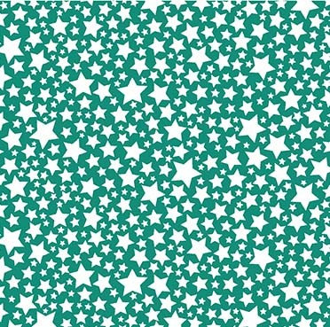 Super Fred Starlettes Teal (Glow In The Dark) - 1/2 meter