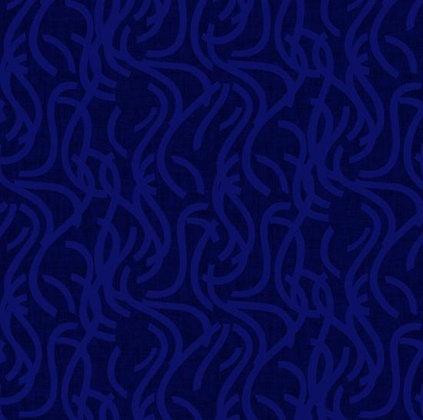 Noodle Doodle Blue -  Wideback - 1/2 meter