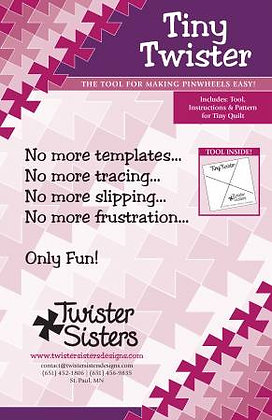 "Tiny Twister - 3-1/2"" Squares"